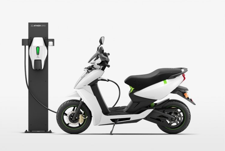 Ather Grid Charging Network Studio Shot