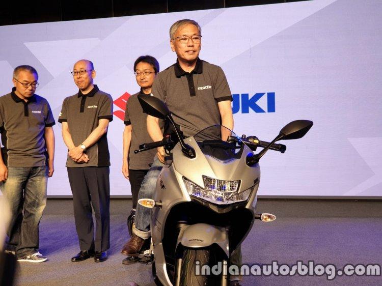 Suzuki Gixxer Sf 250 India Launch Front