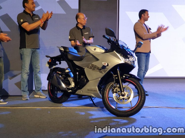 Suzuki Gixxer Sf India Launch Right Side