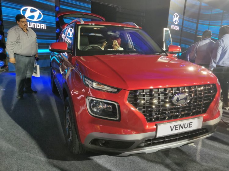 Hyundai Venue Launch