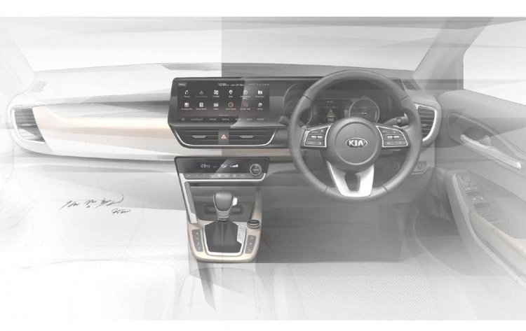 Kia Sp2i Interior Sketch 2