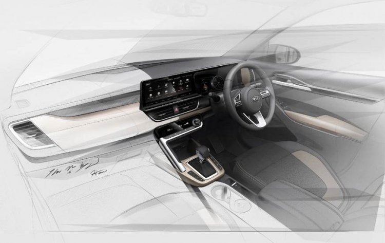 Kia Sp2i Interior Sketch