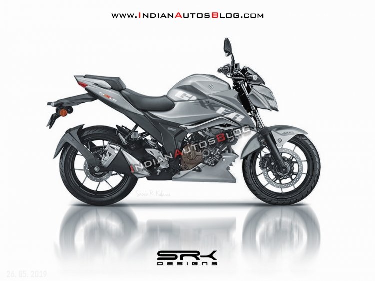 2019 Suzuki Gixxer 250 Iab Rendering