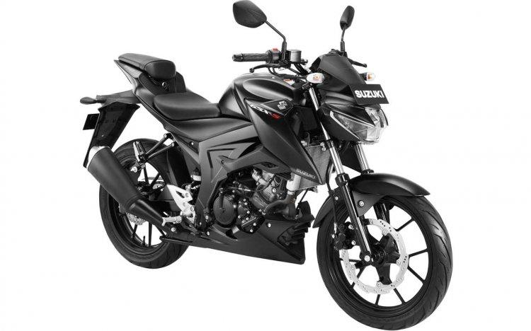 2019 Suzuki Gsx S150 Solid Black Gloss Shuttered K