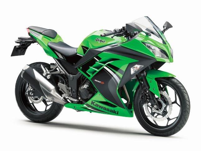 Kawasaki Ninja 300 Abs Lime Green