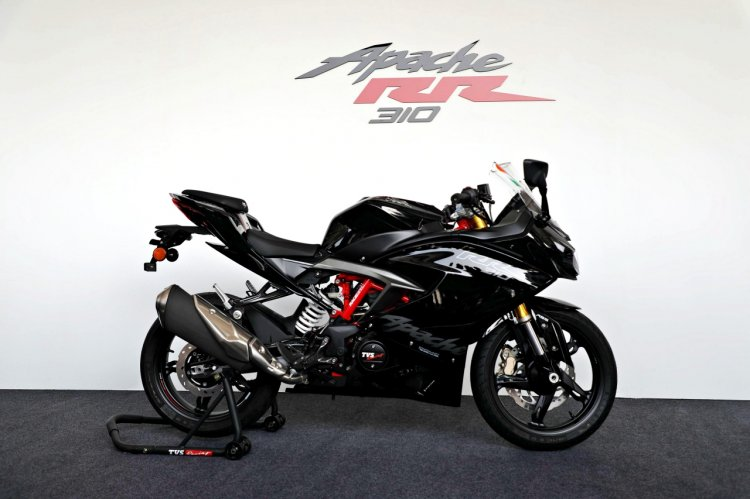 Tvs Apache Rr310 Review Images Stills Right Side