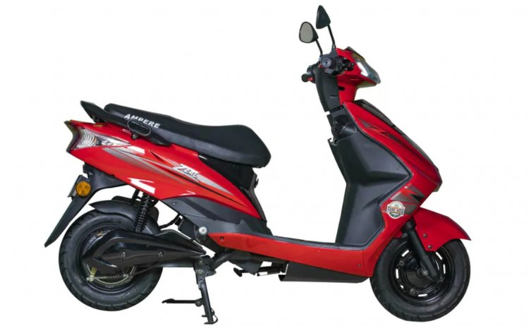 Ampere Zeal Electric Scooter Right