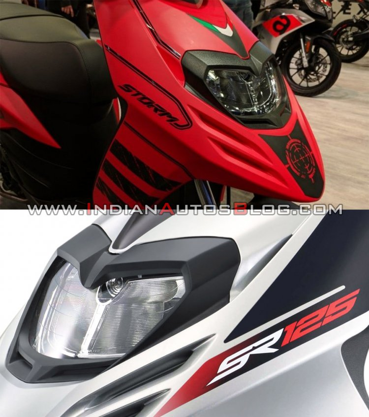 Aprilia Sr 125 Vs Storm 125 Feature And Spec Compa