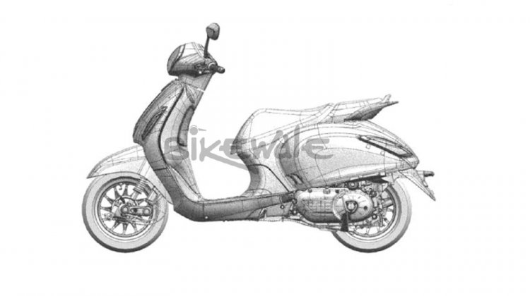 Bajaj Urbanite Sketch