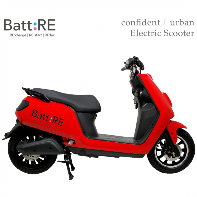 Battre Batmobile Electric Scooter Right Side