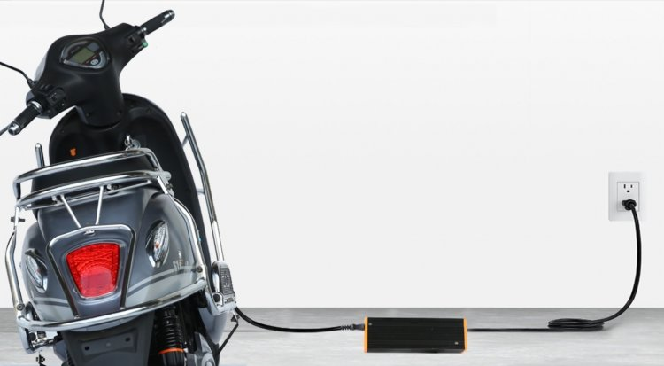 Sahara Electric Products Electric Scooter Charging