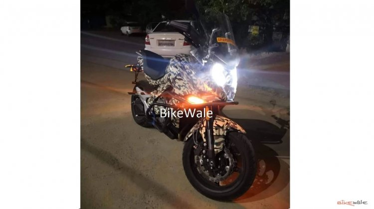Cfmoto 650mt Spied At Night