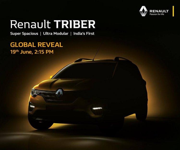 Renault Triber Teaser