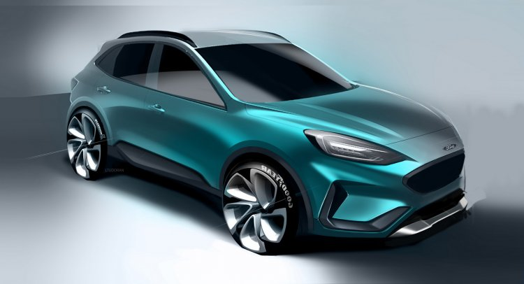 2019 Ford Kuga Sketch 64ae