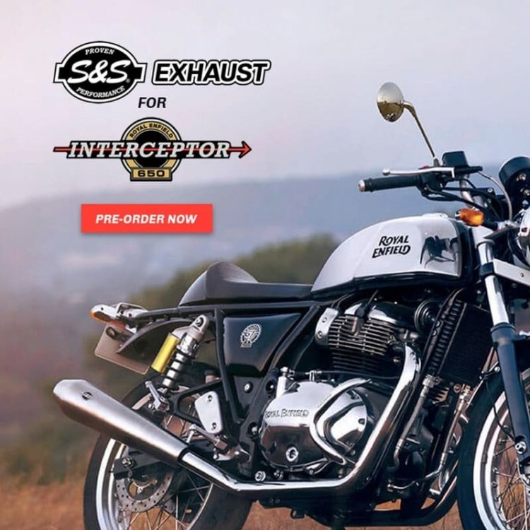 Ss Exhaust For Royal Enfield 650 Twins