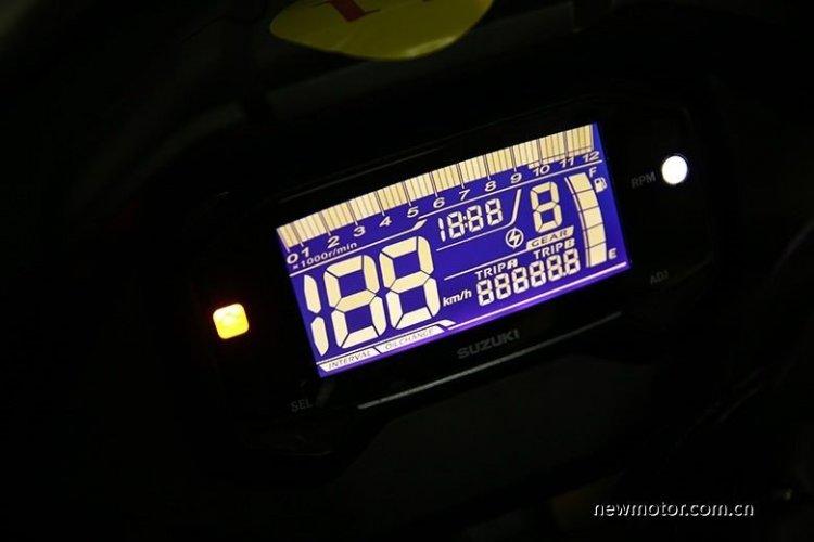 Suzuki Gixxer Nk Instrumentation China