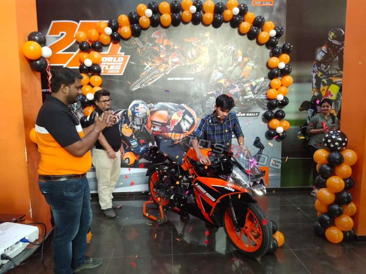 Ktm Rc 125 Delivery