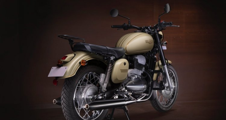 Jawa Accessories And Riding Gear Right Rear Quarte