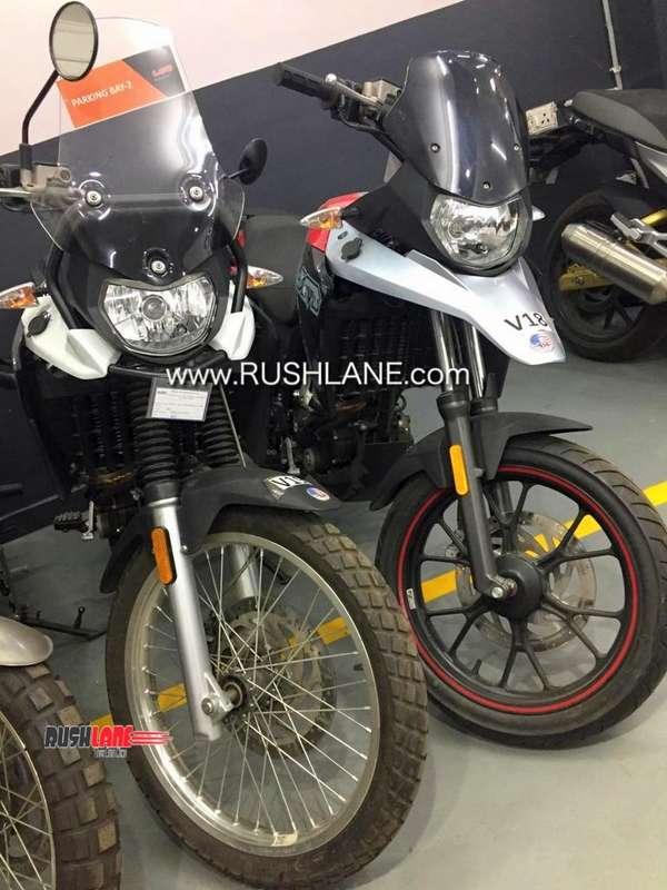 Upcoming Um Motor Adventure Motorcycle Spy Image