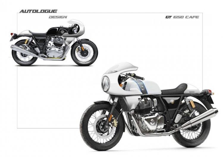 Semi Fairing For Continental Gt 650 From Autologue