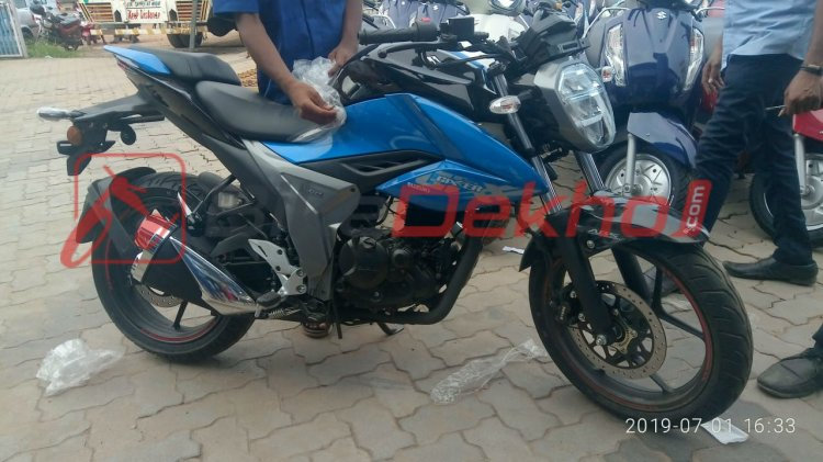 2019 Suzuki Gixxer 155 (facelift) Right Side