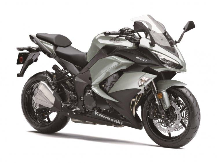Kawasaki Ninja 1000 Metallic Matte Fusion Silver R