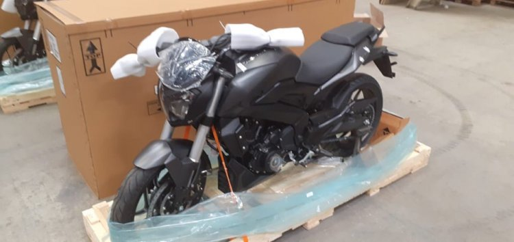 Bajaj Dominar 400 In Russia Left Front Quarter