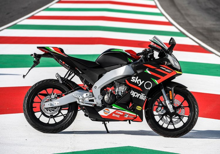 Aprilia Rs125 Gp Replica Side View