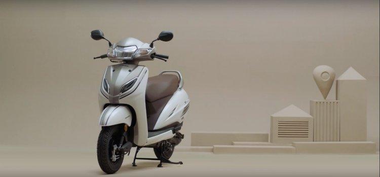 Honda Activa 5g Promotional Video Left Front Quart