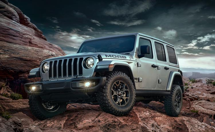 2018 Jeep Wrangler Moab Edition Silver Front Left