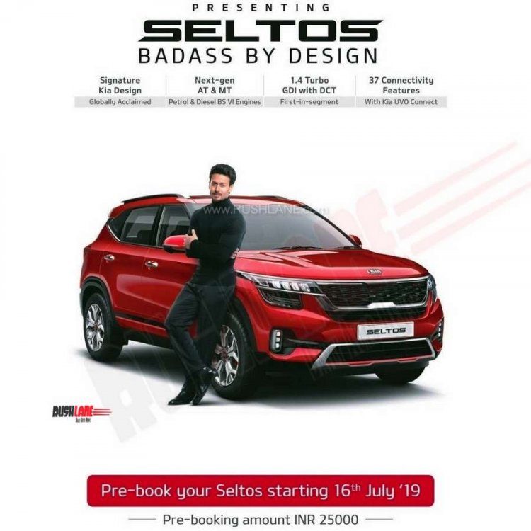Kia Seltos Booking Open India 3
