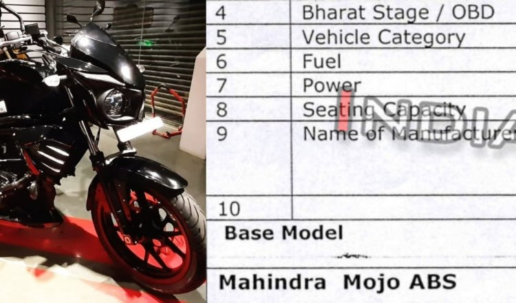 Mahindra Mojo Leaked Specs Featured Image