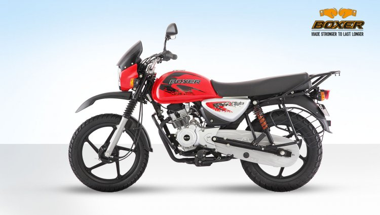 Bajaj Boxer 150x Left Side