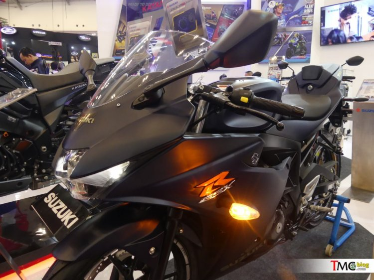 Suzuki Gsx R150 Matte Blue Limited Edition At Giia