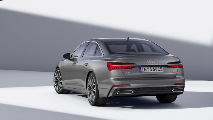 2018 Audi A6 Rear Three Quarters