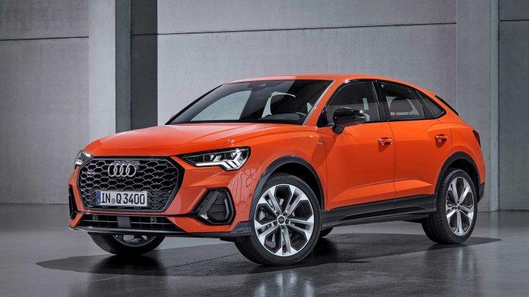 Audi Q3 Sportback 2019 Front Quarter