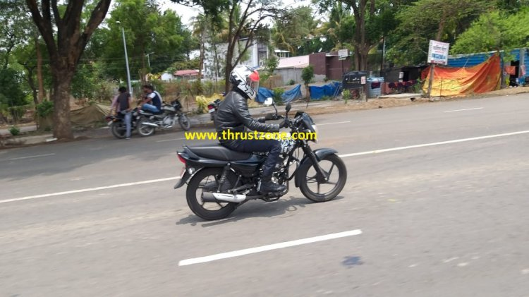 Bajaj Platina Bs Vi Spied Right Side