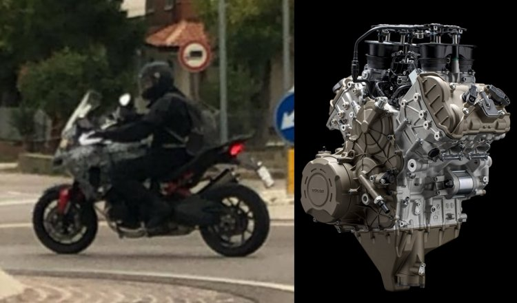Ducati Multistrada V4 Spied In Italy Feature Image