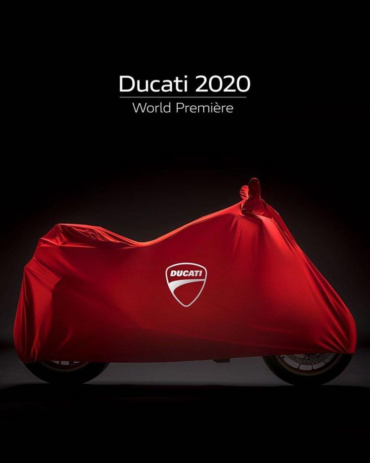 Ducati 2020 Model Range Teaser