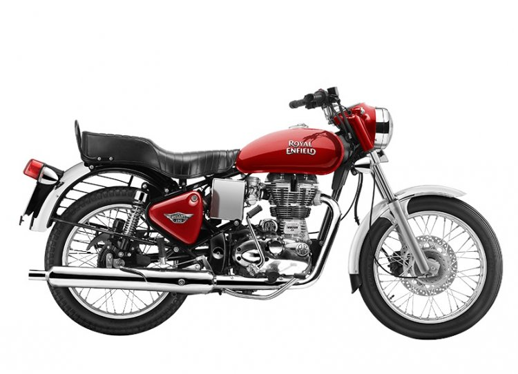 Royal Enfield Bullet 350 Side Profile Right