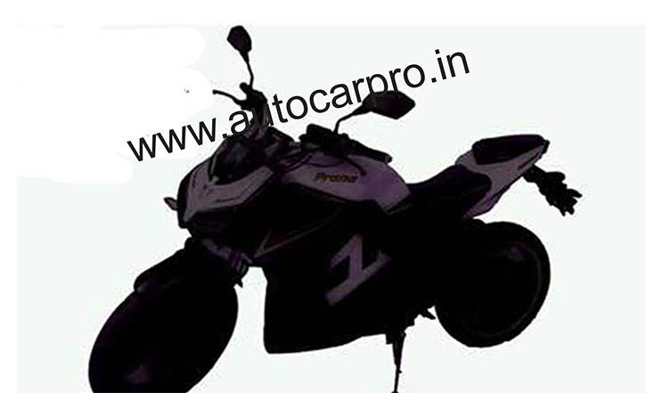 Srivaru Motors Prana Electric Motorcycle