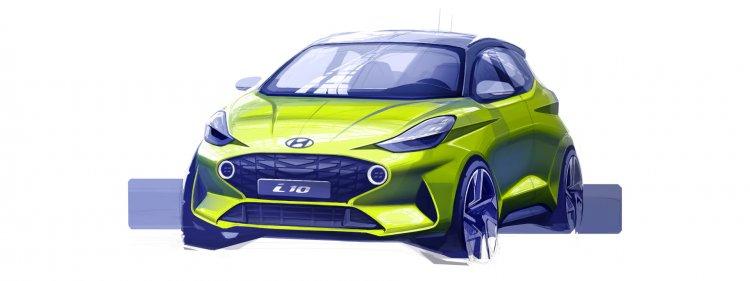 Hyundai I10 Europe Sketch