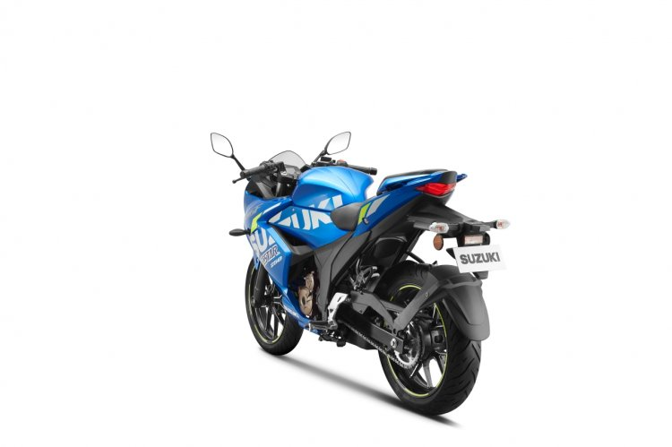Suzuki Gixxer Sf 250 Motogp Edition Left Rear Quar