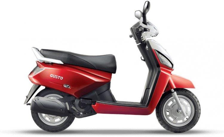 2015 Mahindra Gusto Ice Cool Red
