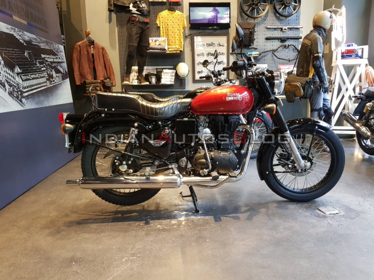 New Royal Enfield Bullet 350 Es Right Side 2 Dbc0