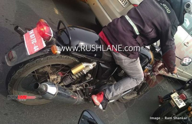 Royal Enfield Continental Gt 650 Bs Vi Spied Right