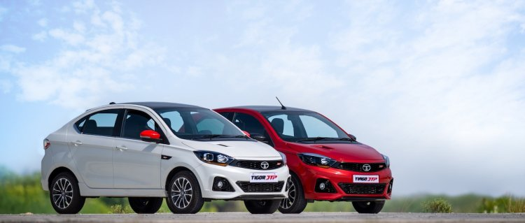 New Tata Tiago Jtp And New Tata Tigor Jtp