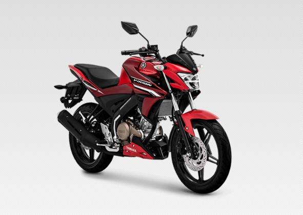 2019 Yamaha V Ixion Red