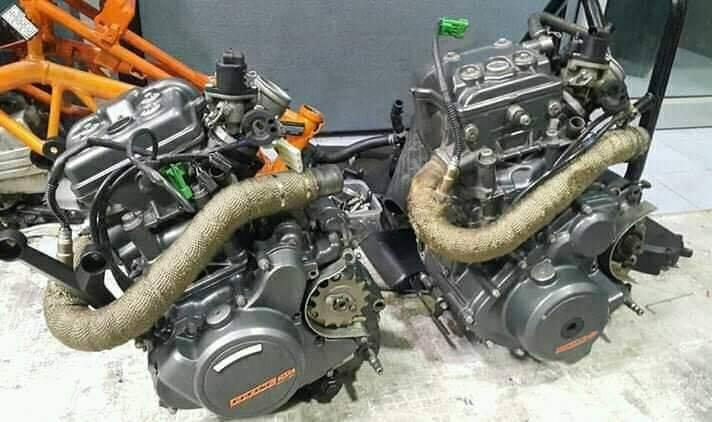 Ktm Duke 390 Engine