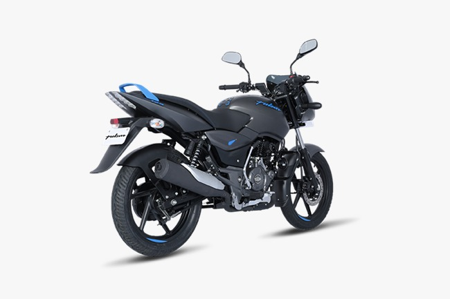 Bajaj Pulsar 125 Neon Rear Three Quarters